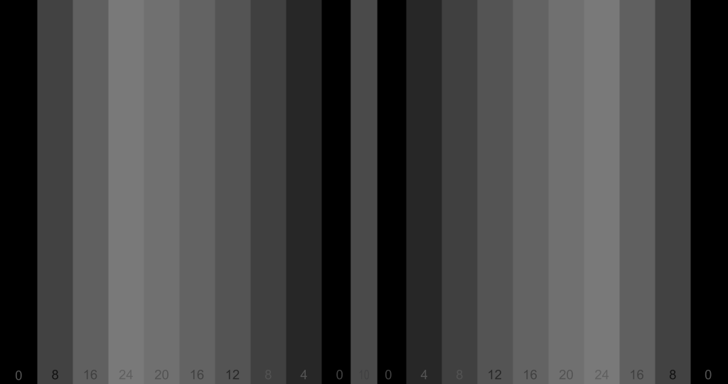 Variazione 1 su Test dell'effetto banda Mach