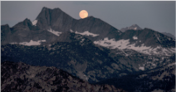 Sierra Moonrise