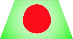 tramo de imagen trapezoidal